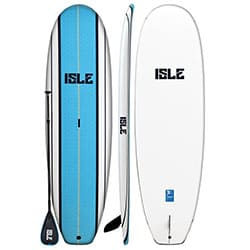 ISLE Classic Soft Top Stand Up Paddle Board SUP Package