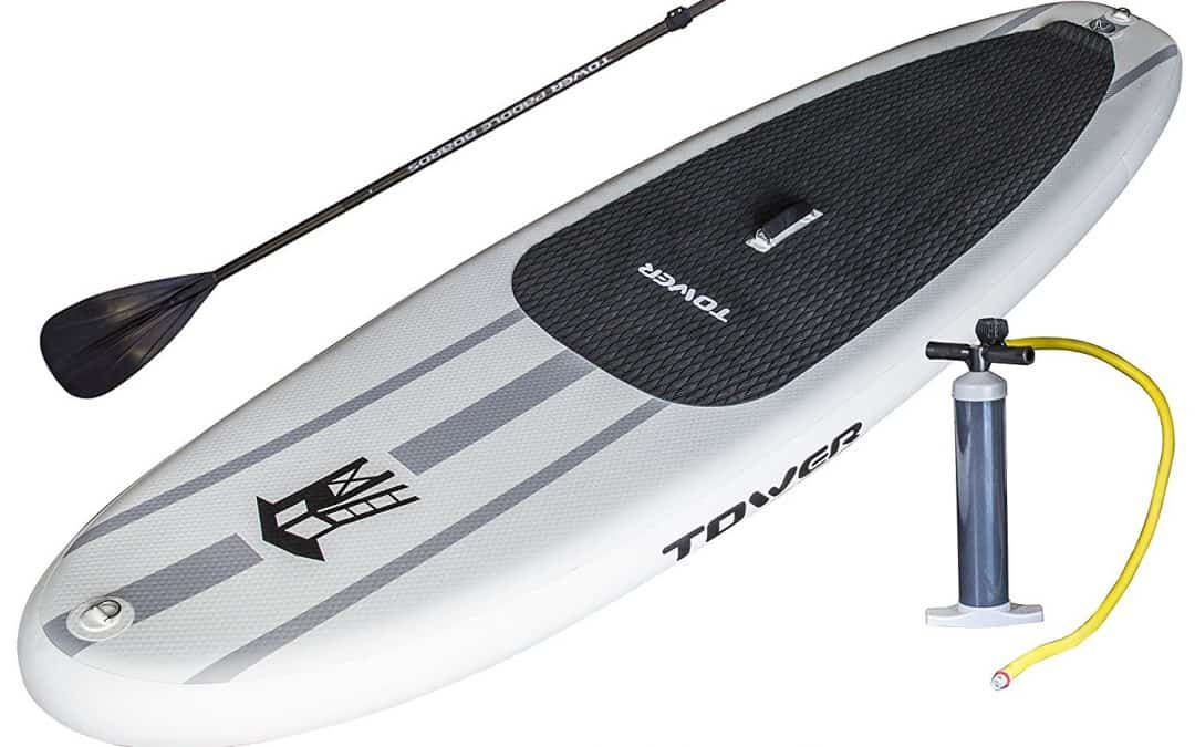 Tower Paddle Boards Adventurer Inflatable SUP Review