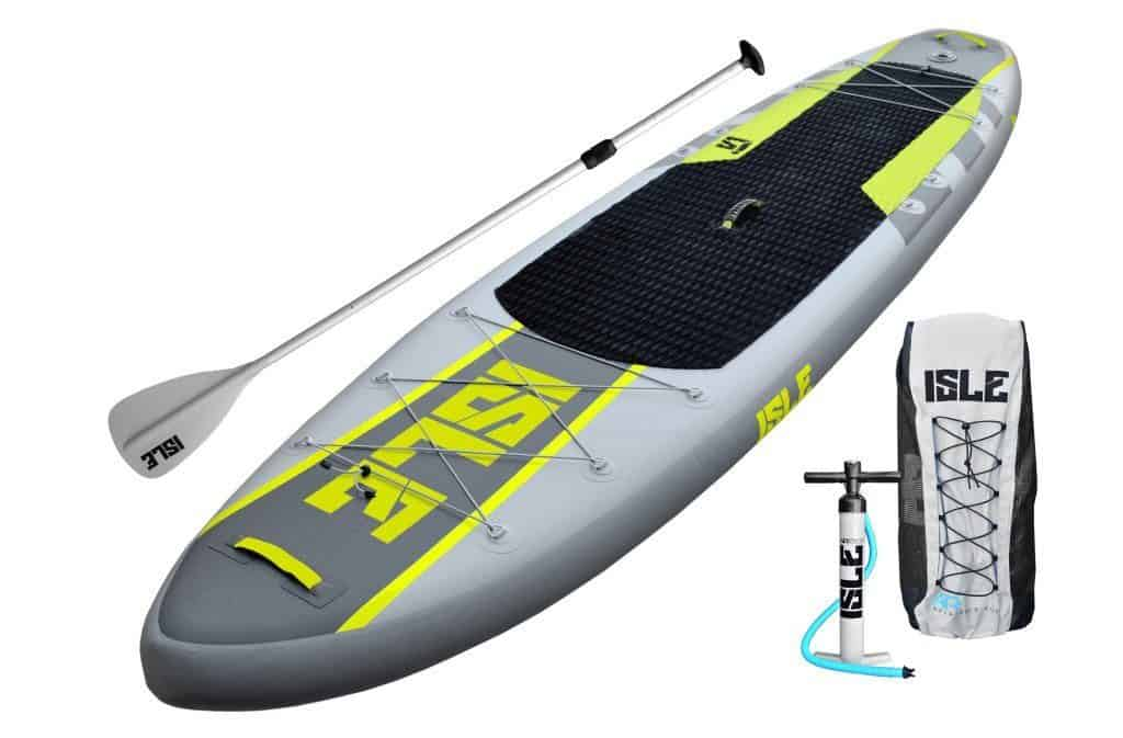Isle Airtech Inflatable Explorer Stand Up Paddle Board