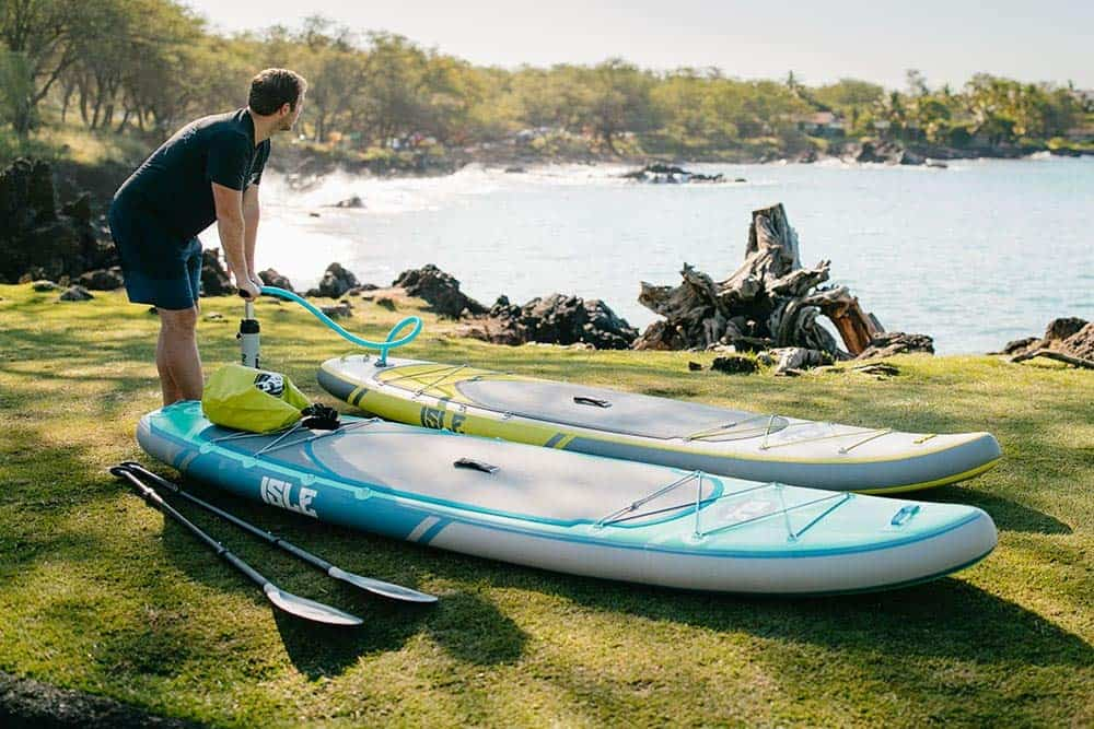 Isle Inflatable Paddle Board Reviews – The Airtech Explorer