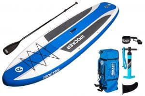 irocker inflatable cruiser paddle board