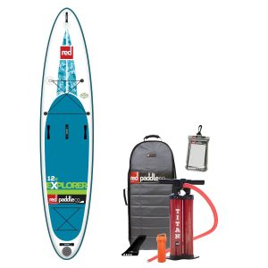 red paddle co explorer paddle board