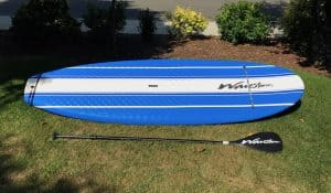 a picture of a wavestorm costco stand up paddle board