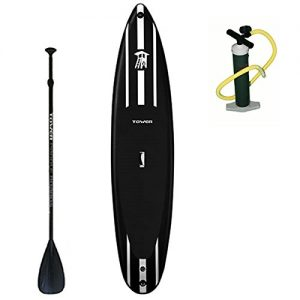 a picture of a tower irace paddle board