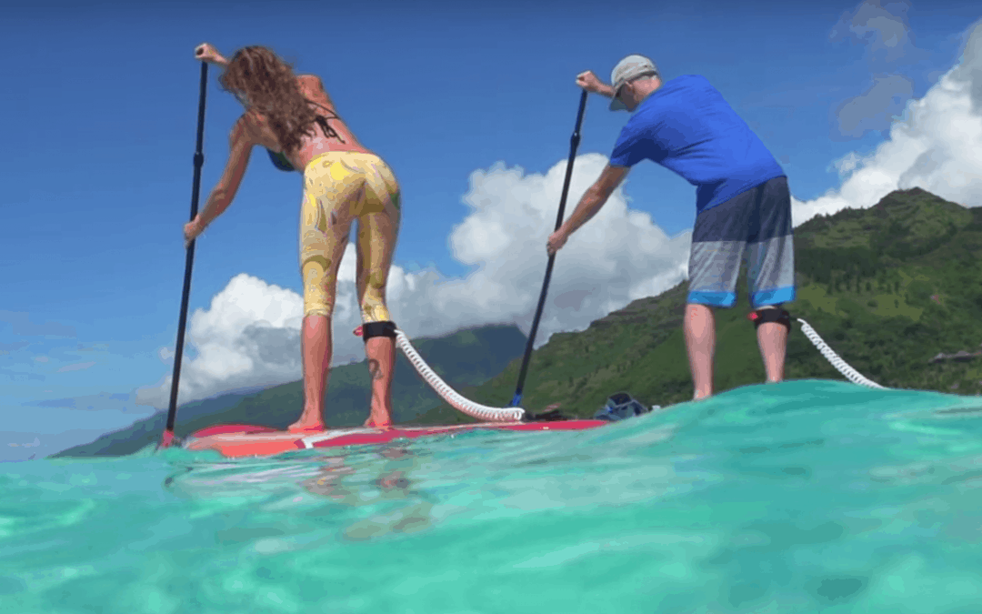 Is Paddle Boarding A Good Workout?