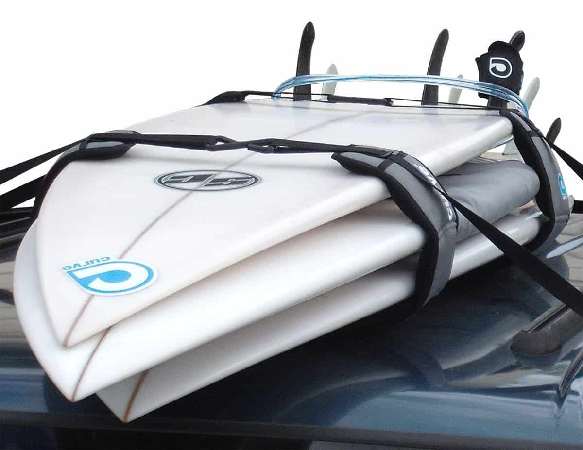 a picture of a stand up paddle board car pad