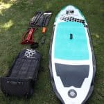 a picture of a shoal paddle board