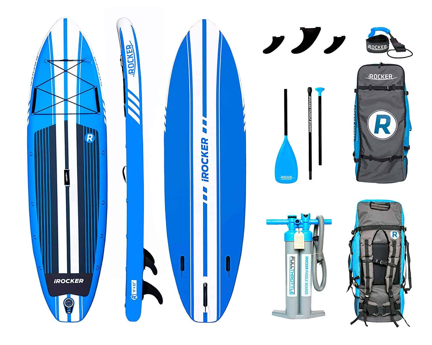 Irocker All-Around Inflatable SUP